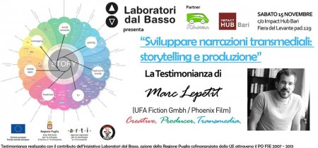 Immagine di copertina di Transmedia: Storytelling e produzione