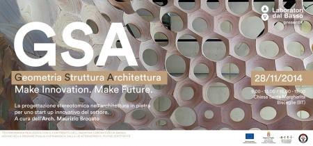 Immagine di copertina di G.S.A – Geometria Struttura Architettura. La Testimonianza di Maurizio Brocato