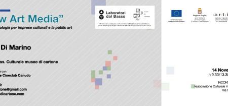 Immagine di copertina di New Art Media – Nuove tecnologie per imprese culturali e la public art